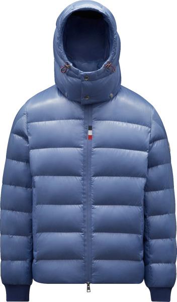 Moncler Light Blue Cuvellier Puffer Jacket G20911a000026895071a