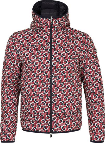 Moncler Logo Print Zois Padded Jacket