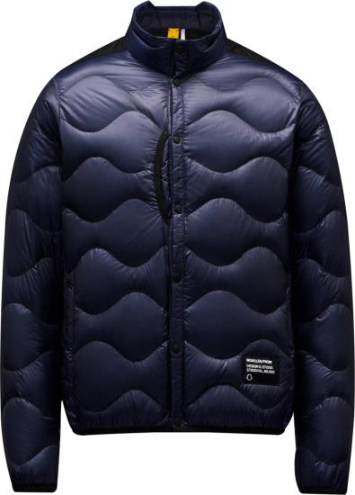 Moncler Navy Blue Cujam Puffer Jacket