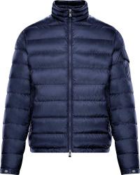 Moncler Navy Blue Lambot Down Jacket