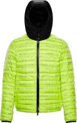 Moncler Neon Yellow Dun Padded Jacket