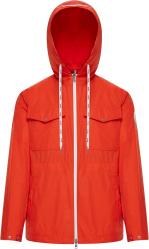 Moncler Orange Carion Windbreaker Jacket