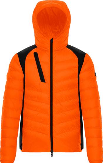 Moncler Orange Deffeyes Padded Jacket