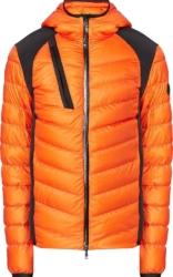 Moncler Orange Deffeyes Puffer Jacket