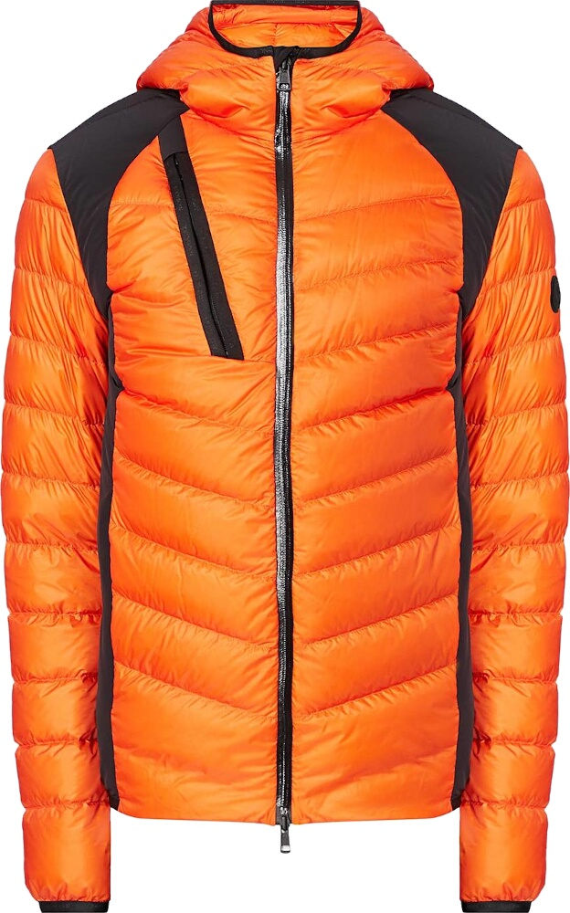 Moncler Orange Deffeyes Puffer Jacket