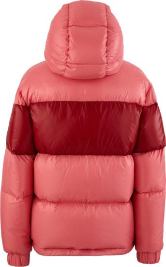 Moncler Pink Gary Puffer Jacket