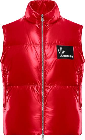 Moncler Red Banker Vest