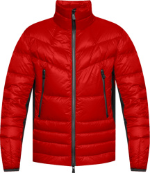 Moncler Red Canmore Padded Jacket
