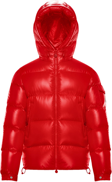 Moncler Red Ecrins Puffer Jacket