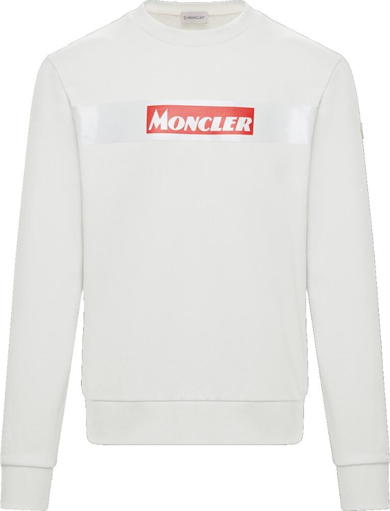 Moncler Red Logo Block Hoodie