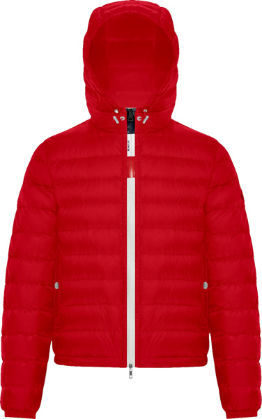 Moncler Red Rook Padded Puffer Jacket