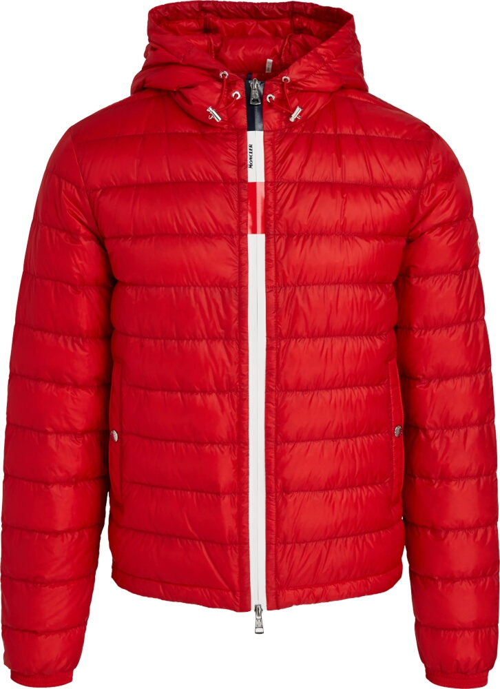 Moncler Red Rook Puffer Jacket