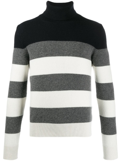 Moncler Striped Turtleneck