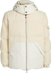 Moncler White Baikal Puffer Jacket