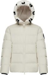 Moncler White Dubois Puffer Jacket
