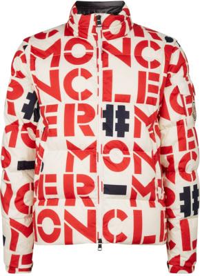 Moncler White Jehan Puffer Jacket