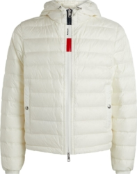 White 'Rook' Hooded Jacket