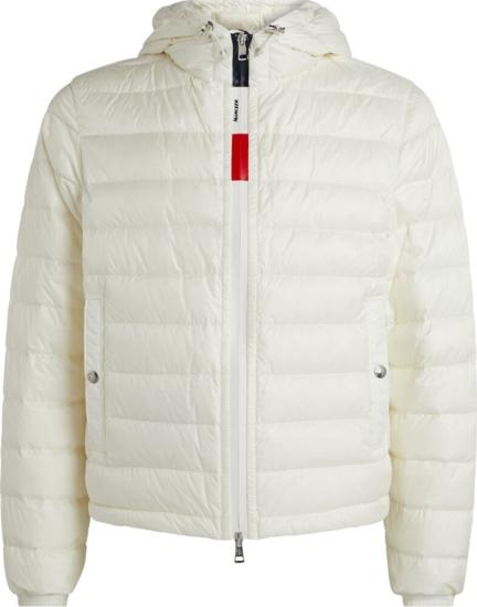 Moncler White Rook Jacket