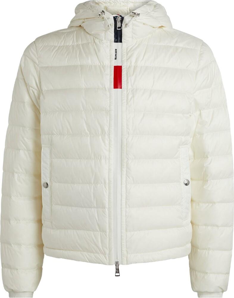 White 'Rook' Hooded Jacket