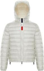 Moncler White Rook Puffer Jacket