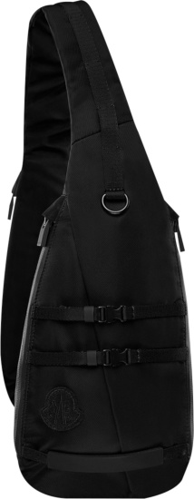 Moncler X 1017 Alyx 9sm Black Crossbody Bag