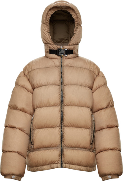 Moncler X Alyx Brown Puffer Jacket