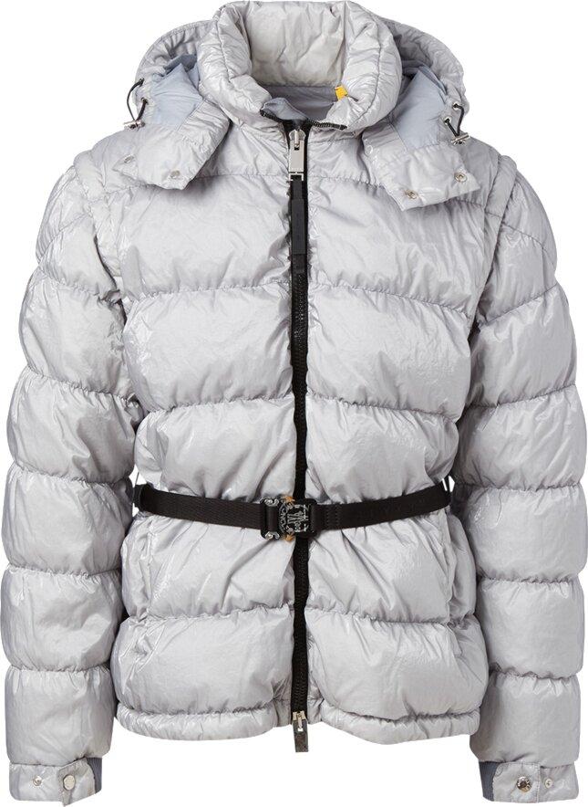 Moncler X Alyx Grey Phobos Puffer Jacket