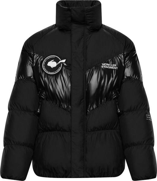 Moncler X Frament Black Blain Puffer Jacket