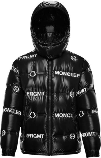 Moncler X Frgmt Black Mayconne Puffer Jacket