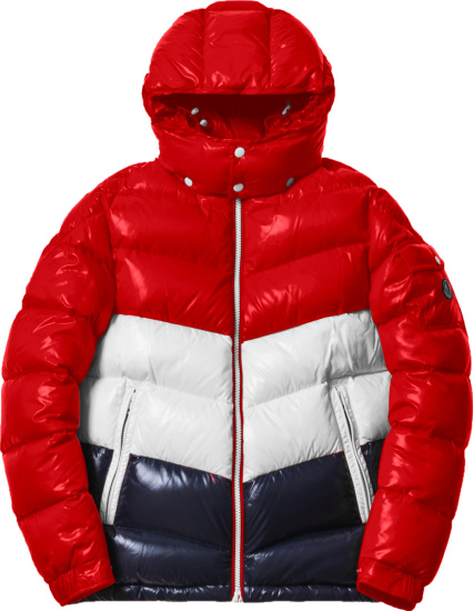 Moncler X Kith Red Rochebrune Puffer Jacket