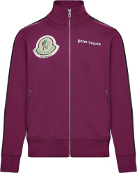 Moncler X Palm Angels Purple Track Jacket