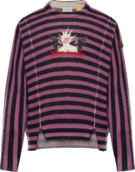 Moncler X Palm Angels Striped Sweater