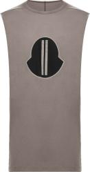 Moncler x Rick Owens Brown Sleeveless T-Shirt