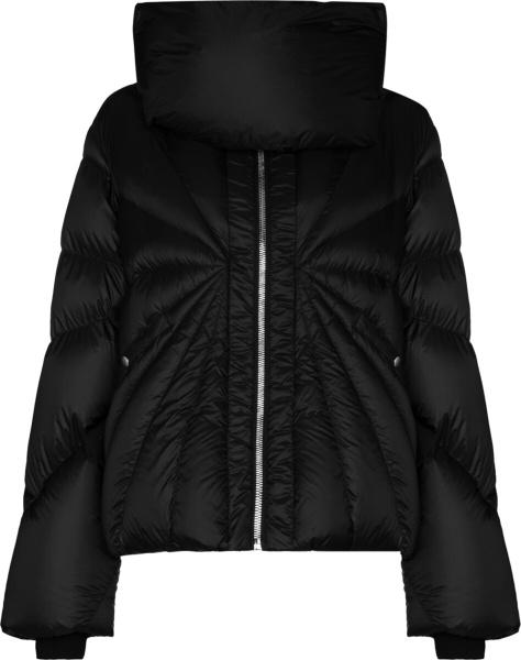 Moncler X Rick Owens Tonopah Black Puffer Jacket.jpga