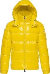 Yellow 'Maya' Puffer Jacket