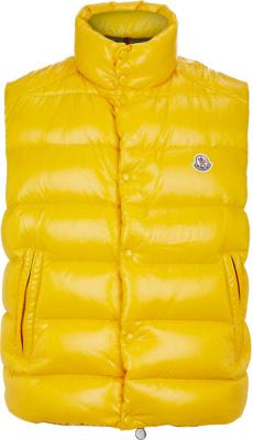 Moncler Yellow Tib Puffer Vest