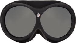 Black Ski Goggles
