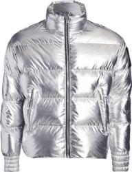 Moose Knuckles Metallic Puffer Jacket