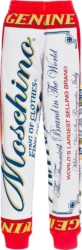 Moschino x Budweiser Logo Print Sweatpants