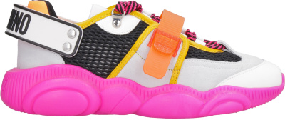 Moschino Fluo Teddy Sneakers