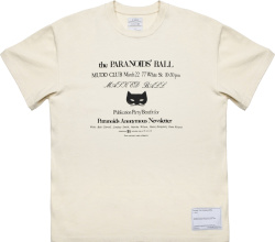 Mr Saturday White Paranoid Ball T Shirt