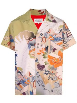Multicolor Printed Shirt Worn By Gunna In His Richard Millie Plan Music Video
