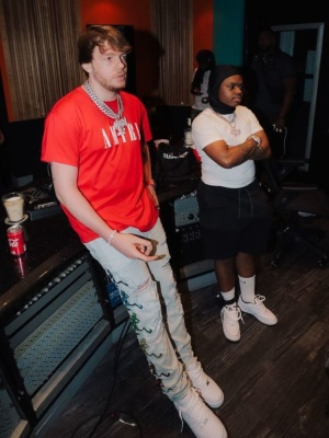 Murda Beatz And 42 Dugg Wearing Amiri And Nike Outfit