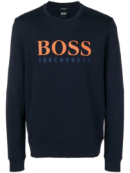 Navy Hugo Boss Sweatshirt Worn By Kevin Gates