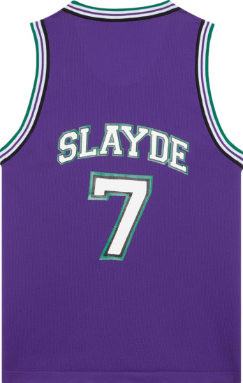 Neil Barrett Purple Slayde 7 Tank Top