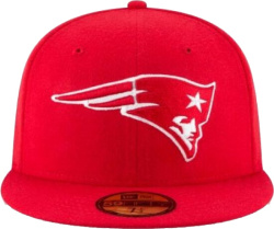 New England Patiots Scarlet Red 9fifty