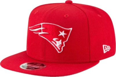 New England Patriots Red Snapback