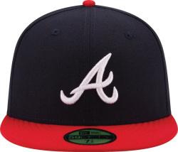 Atlanta Braves Navy & Red 59FIFTY