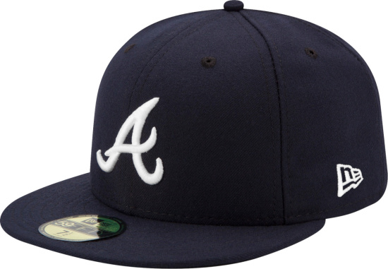 New Era Atlanta Braves 59fifty Fitted Hat