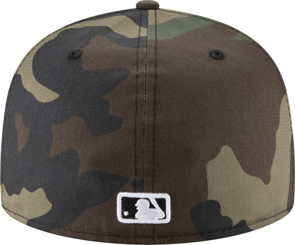 New Era Atlanta Braves Camo 59fifty Fitted Hat